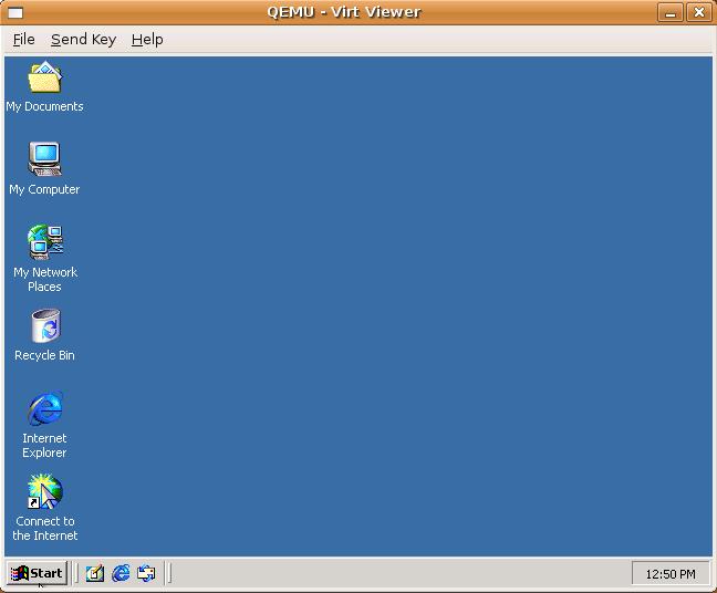 установка windows на kvm